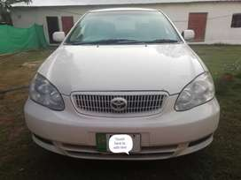 Toyota Corolla 2.OD model 2004 just family used only non accidentall