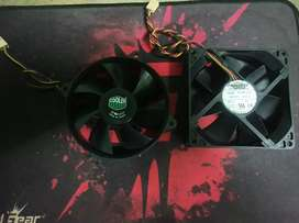 2 CPU cooling fans