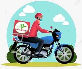 Delivery jobs for boys in Vadodara