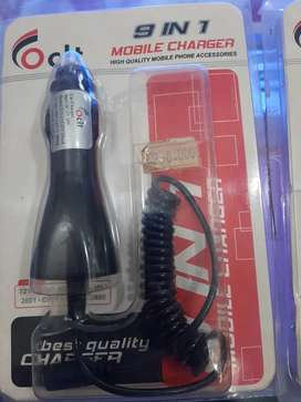 Charger Mobil 9 in 1
