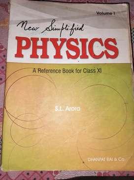 Physics SL Arora class 11 , volume-1