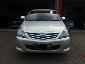 Toyota kijang innova 2.0 G upgrade V AT silver 2007