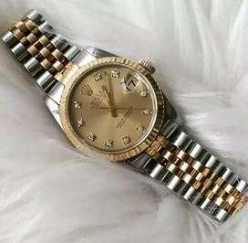 Rolex 16233 Datejust Gold Diamonds