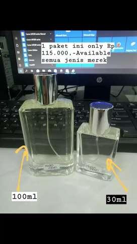 Perfume 100ml Bonus 30ml (buy 1 get bonus)