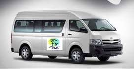 Toyota Hiace standard roof get easy on installment