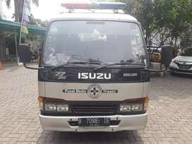 Isuzu elf minibus ambulance medis 2005 km19rb istimewa antik jrg pakai