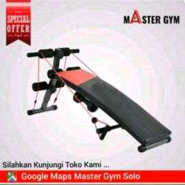 """Alat Fitness SIT UP BENCH 78 """"Master Gym"""" Be Fit Be Healthy ID#6101"""
