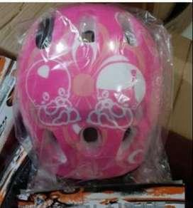 Helm Sepeda Anak Laki-laki/Perempuan Motif