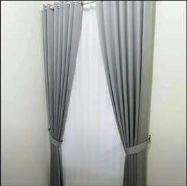 Gorden curtain blinds dan walpaper bahan berkualitas