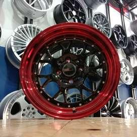 Velg Mobil Vios City Ring 15 Celong Lebar 8/9 Pelek Racing HSR R15