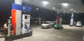 Sales Man at Petrol Pump