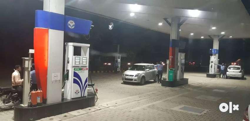 Sales Man at Petrol Pump 0