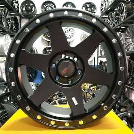 Velg Mobil Ring 20 Kayong Black ( Pajero Strada Fortuner) Offroad Aceh