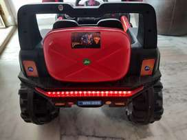 Kids car rechargable Jeep for 9500