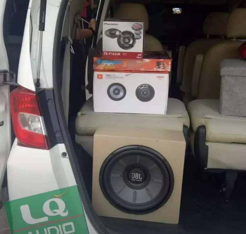 Paket JBL + Coaxial Pioneer + power Hollywood 0