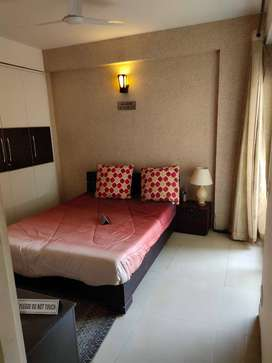 beautiful semi furnished 2bhk flat Affordable prize in noida extension