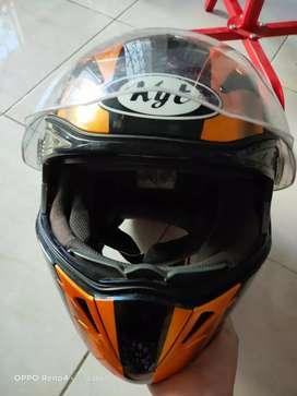 helm kyt venom orange