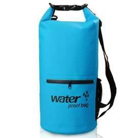 Outdoor Waterproof Bucket Dry Bag 10 Liter with Extra Pocket - OB-104