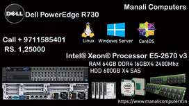 Dell Poweredge R730  2U rack Server