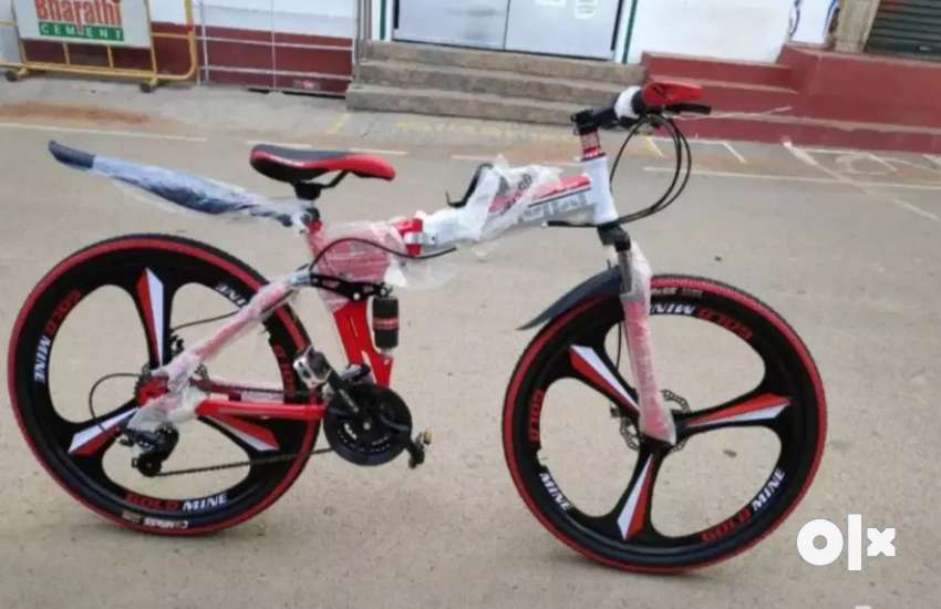 Imported bicycles door step caah on delivery in 1 day SSN