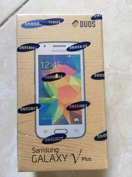 Samsung Galaxy V-Plus Black New Segel