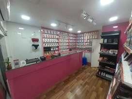 Women innerwear, cosmetics, fashion jewellery shop
