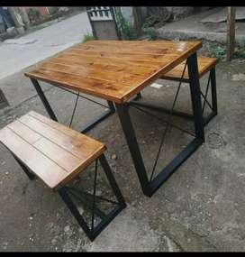 Meja makan meja cafe meja restoran meja kantin meja teras