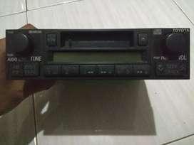 Radio tape toyota