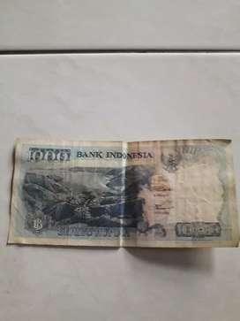 Uang kuno Rp 1000 edisi 1992