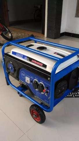 Genset ASAHI AWB4000E 3000 watt 95% seperti baru /Mulus