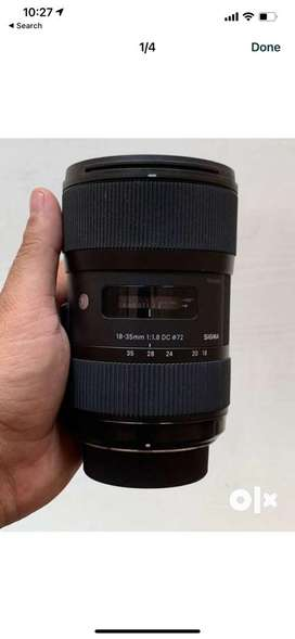 Sigma 18-35mm F/1.8 DG HSM Art Lens for Canon DSLR Cameras