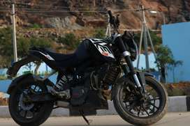 KTM 200 bike