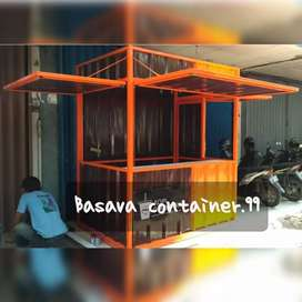 Booth jualan- booth coffee shop- booth minuman- booth container- booth