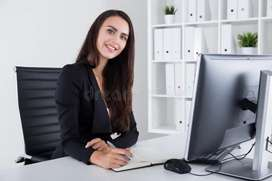 Good looking personal secretary manager jobs also available