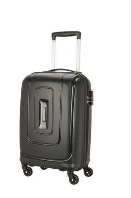 NEW American Tourister BLACK Hard Luggage Bag Cabin Size MRP 8500