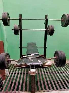 bench press set