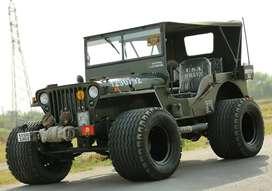 Willy jeep, Mahindra Jeep Modified, by BOMBAY JEEPS AMBALA CITY Thar