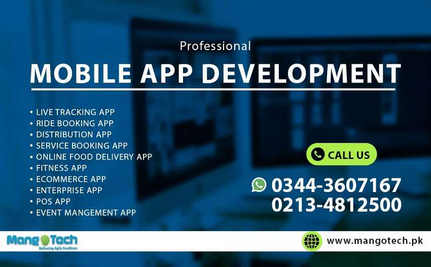 Best Mobile App Development Company in Pakistan - Android and iOS 0