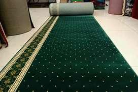 Gudang karpet masjid mewah super tebal pasang Klaten