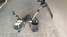 Children's tricycle sparingly used