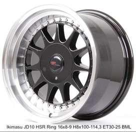 HSR R16X8/9 H8X100-114,3 ET30/25 BML