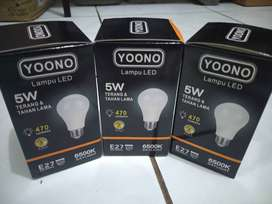 Lampu led yoono 5 Watt Original premium