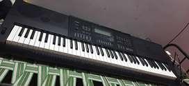 Casio WK6600 76-Key Workstation Keyboard with Power Supply