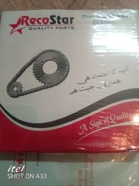 Honda 125 Chain spocket kit