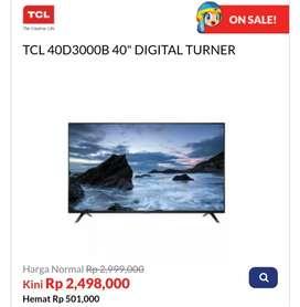 """Kredit TV TCL 40D3000B 40"""" DIGITAL TURNER"""