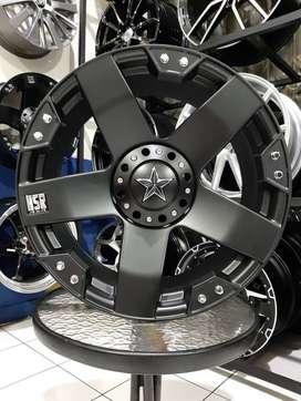 Velg Mobil OFFORAD Taruna Terios rush Xtrail Xpander Ring 18 HSR RASTA