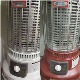 New korea gas heaters with 3 year worrnty .. 9960 kcal heet / h