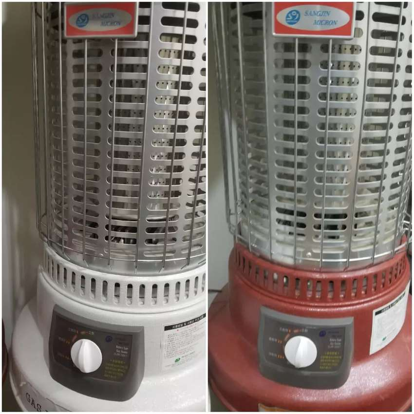 New korea gas heaters with 3 year worrnty .. 9960 kcal heet / h 0