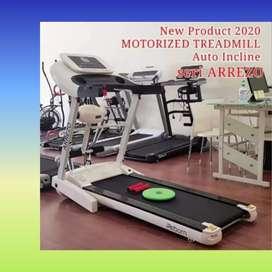 promo treadmill elektrik ireborn arrezo incline G-73