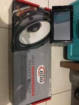 tape dan speaker 3 way